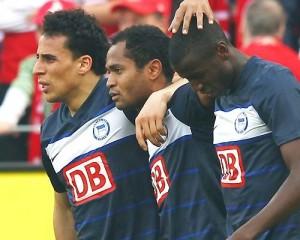 Adrián Ramos llegó a 9 goles con su doblete ante el Mainz