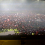 ESPRIT Arena de Düsseldorf invadido