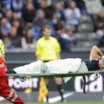 Pierre-Michel Lasogga, lesionado contra el Hoffenheim