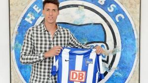 Sandro Wagner ya es Herthaner