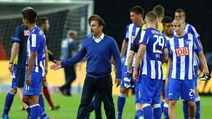 Hertha empató en su regreso a la 2.Bundesliga