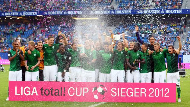 Werder Bremen v Borussia Dortmund - LIGA total! Cup 2012 Final