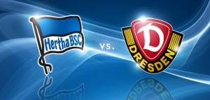 Hertha Berlin  vs. Dynamo Dresden