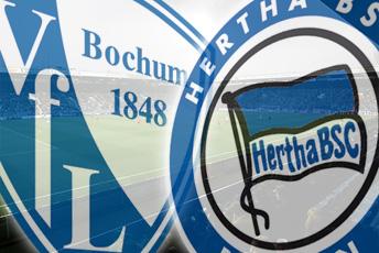 Bochum-Hertha en situaciones opuestas
