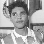 Alex Alves en su presentación con el Palmeiras