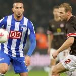 Ben Sahar marcó para dar tres puntos al Hertha