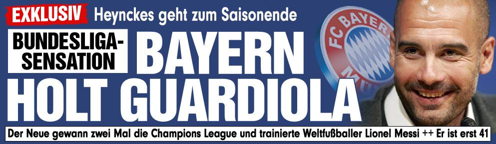 Guardiola al Bayern Munich