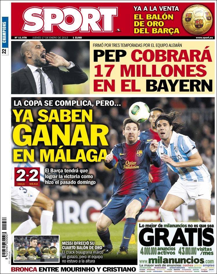 Pep ganará 17 millones en el Bayern