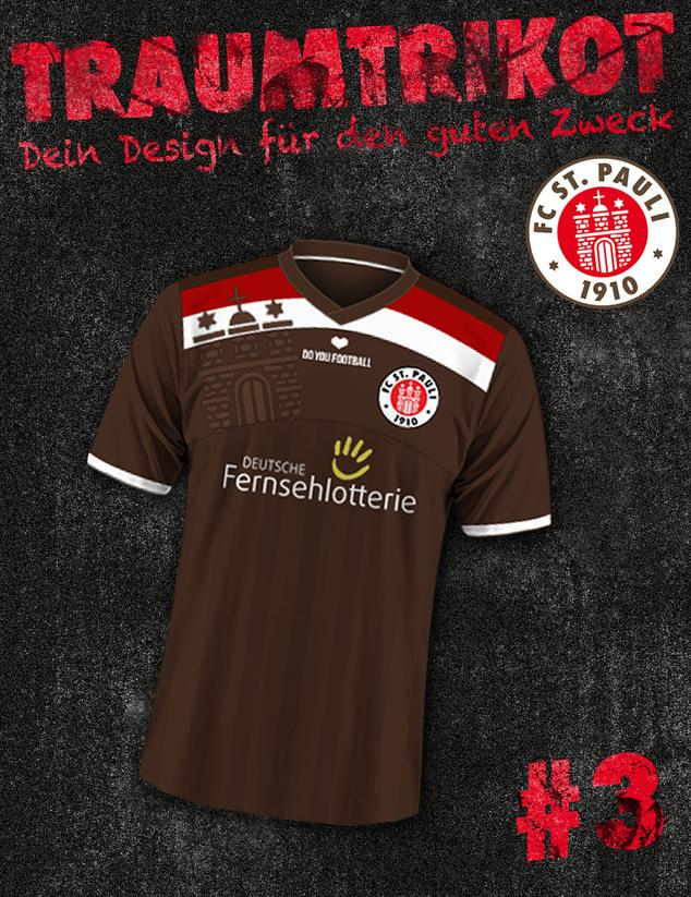 Nueva camiseta del Sankt Pauli alemán