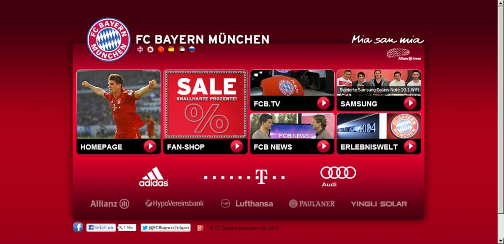 Acuerdos comerciales del Bayern