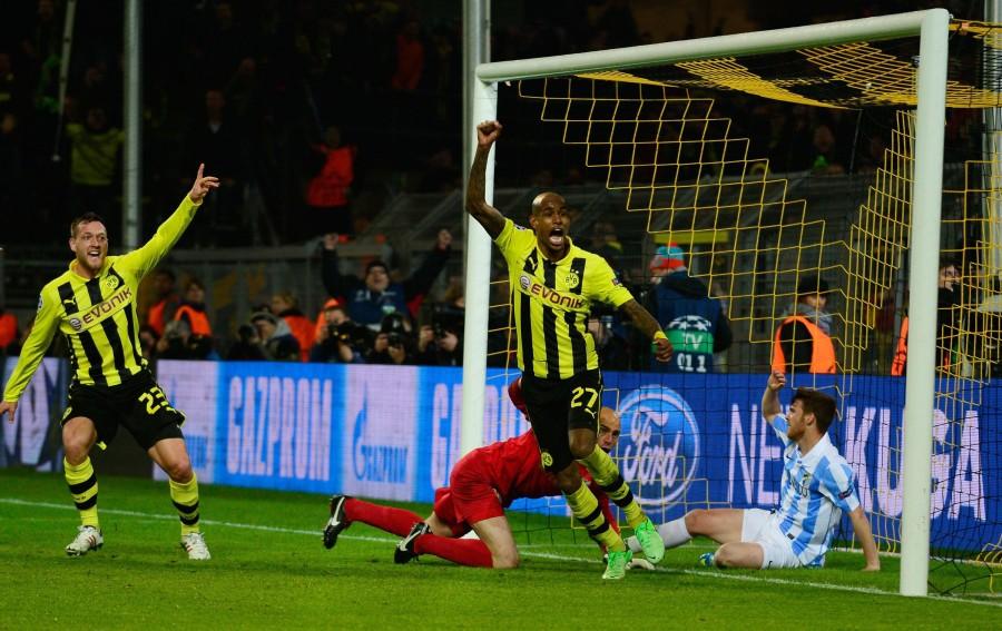Felipe Santana autor del gol que daba el pase a semifinales al BVB