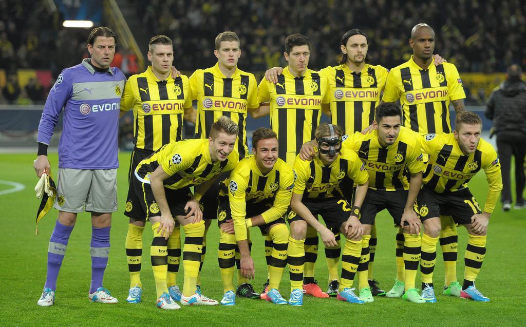 UEFA CL:  BV Borussia Dortmund - Malaga CF