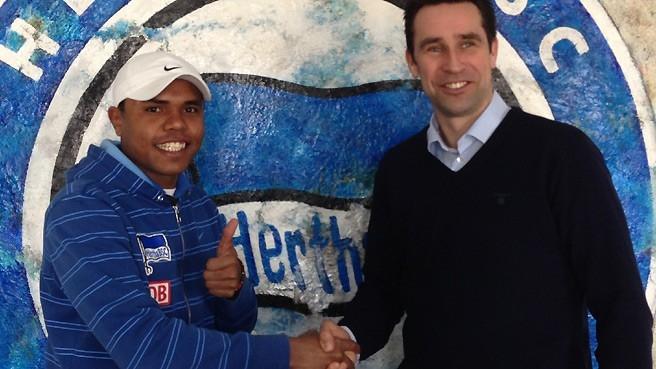 Ronny y Preetz, Ronny renueva hasta 2017 con el Hertha