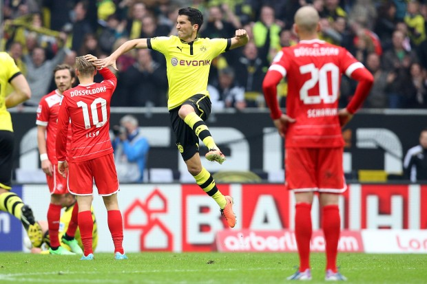 Fortuna-Duesseldorf-Borussia-Dortmund