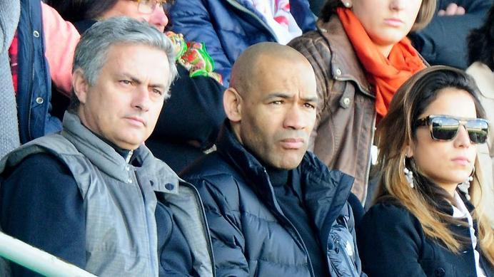 José Mourinho entrenador del Real Madrid