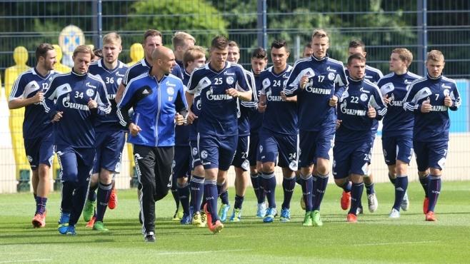 Primer entrenamiento del FC Schalke 04 de la pretemporada | Foto: Schalke.de