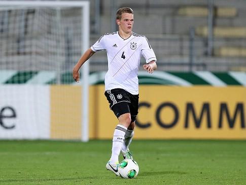 Ginter fue capitán del seleccionado U19. Fuente: ran.de