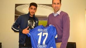Tolga Cigerci en el Hertha