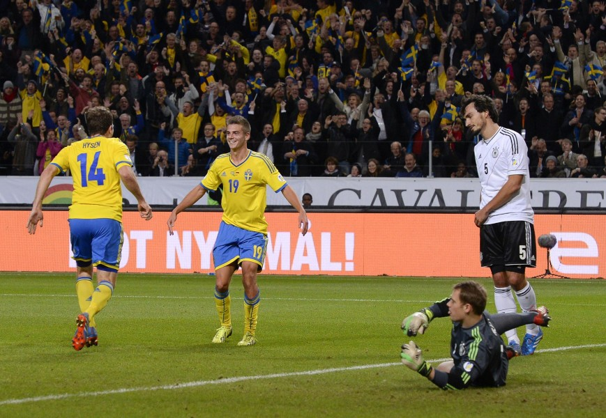 Kacaniklic gol contra Alemania