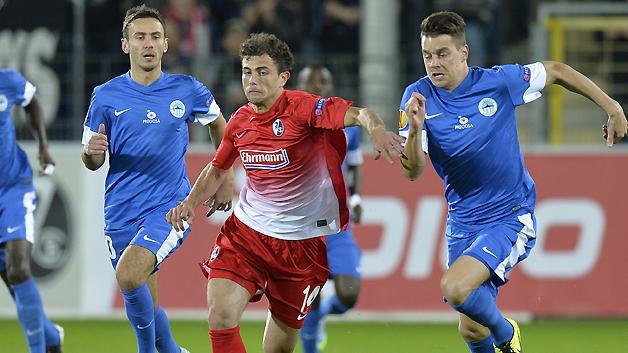El partido en Freiburg fue intenso y terminó en empate 2-2. Foto: media.bundesliga.com