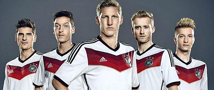 Nuevo uniforme Alemania 2014 Mundial