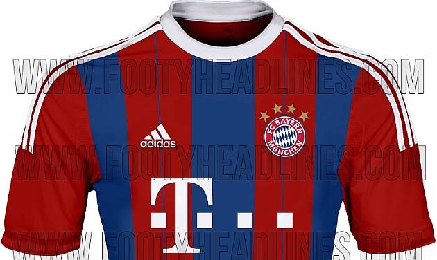 Camiseta Bayern azulgrana