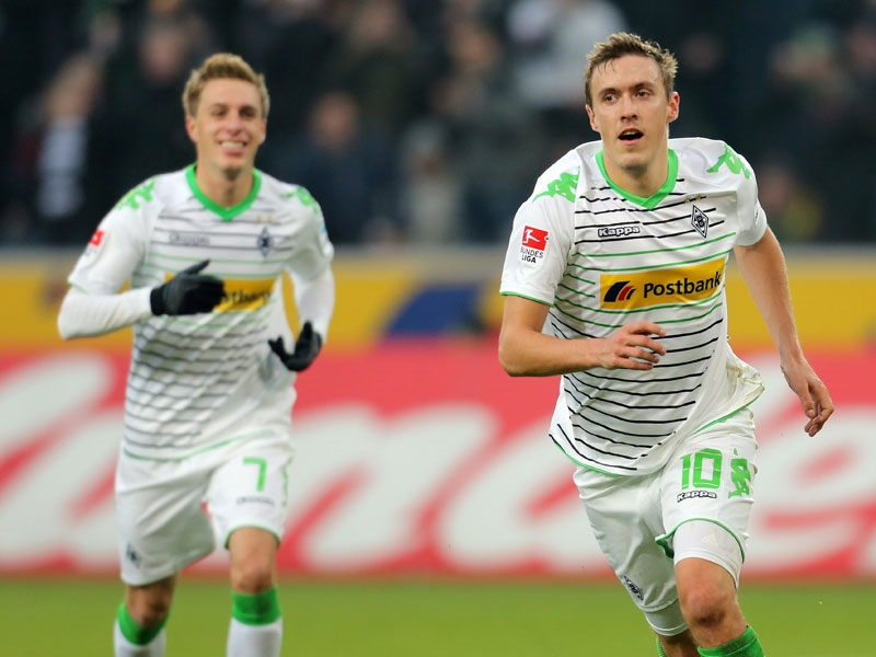 Max Kruse celebra el empate para los locales. Foto: Getty Images.