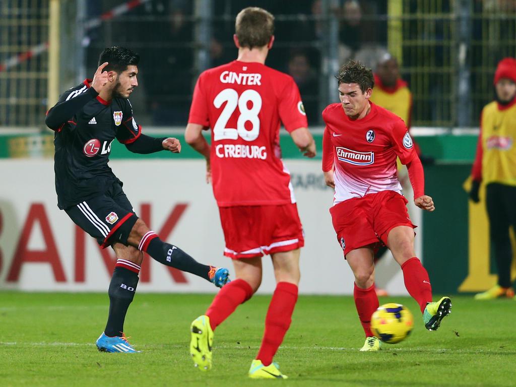 Imagen del partido por DFB Pokal que ganó el Leverkusen por 1-2. Fuente: worldfootball.net