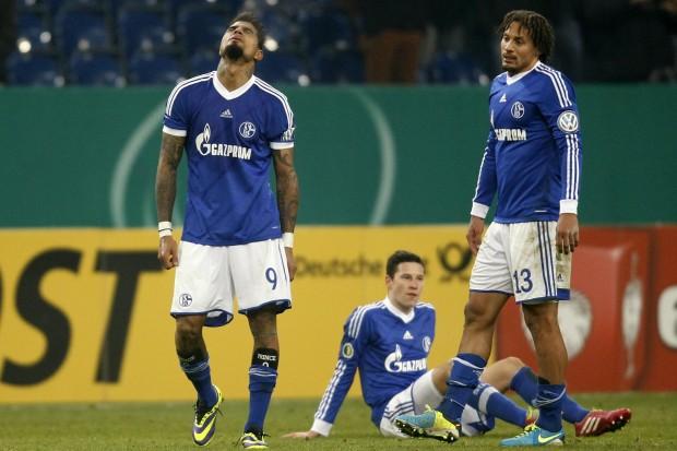La eliminación en copa significó un duro golpe para el vestuario del Schalke 04. Foto: Alliance Pictures.