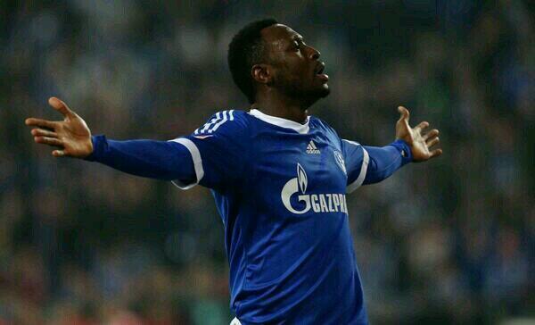 Obasi, el mejor contra el Hertha