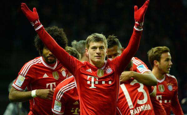 Bayern Campeón Bundesliga 2014