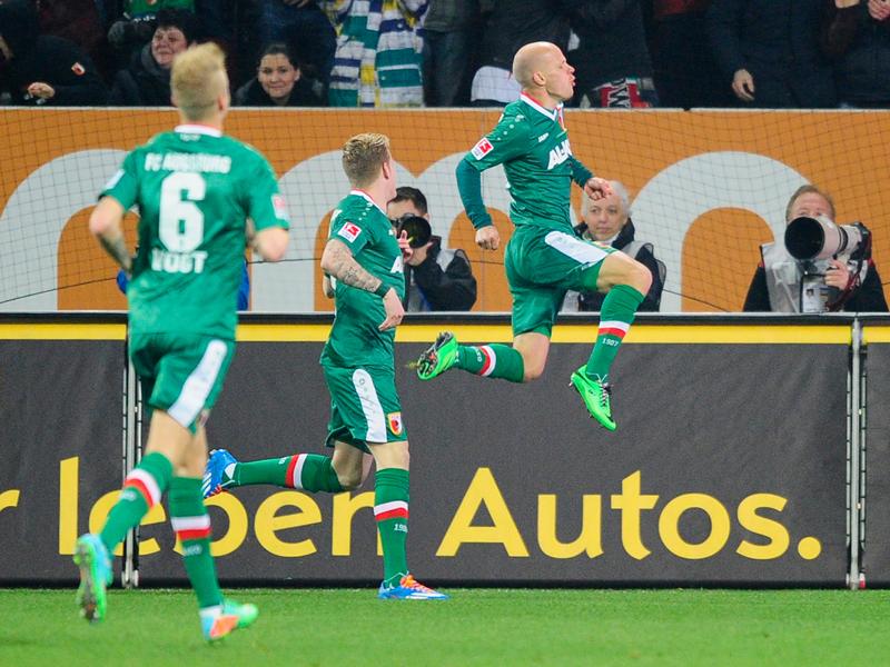 Werner adelantaría a los locales, en lo que sería un jarro de agua fría para los jugadores del Schalke. Foto: Alliance Pictures.