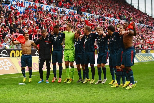 Bayern campeón 2014