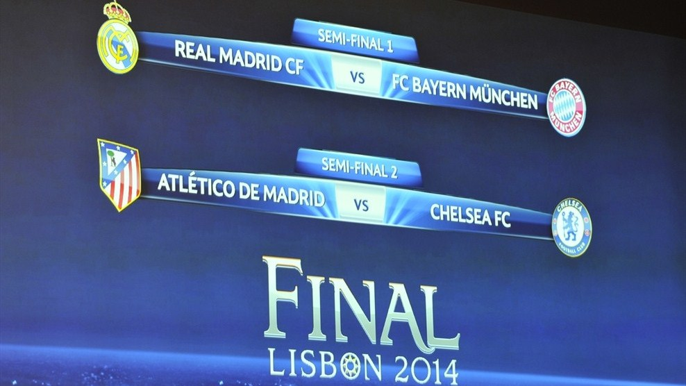 Real Madrid vs Bayern semifinales Champions