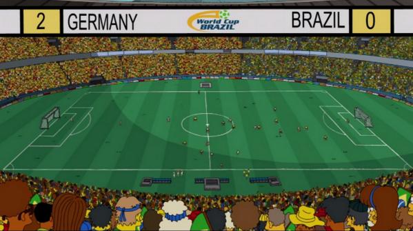 Alemania Mundial Brasil 2014 Simpsons