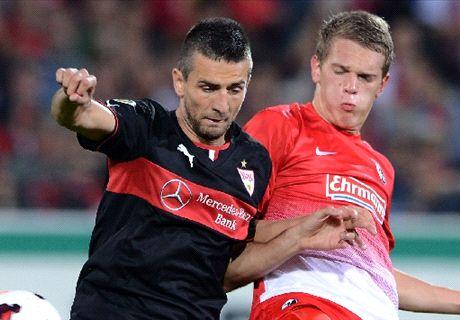 Imagen del último choque entre los dos equipos que termino con triunfo del VfB.