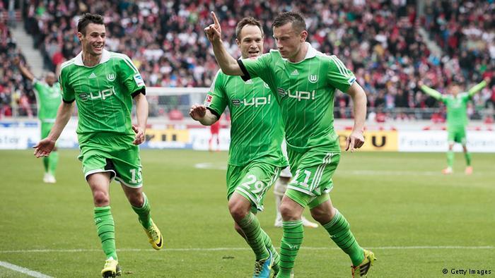 Con los goles de Ivica Olić por bandera, el Wolfsburgo ha firmado su segunda mejo actuación en la Bundesliga en este siglo XI. Foto: Getty Images.