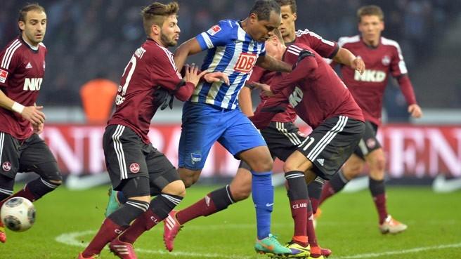 Plattenhardt al Hertha. Foto: herthabsc.de