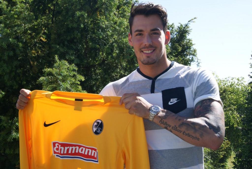 Bürki tendrá su primera experiencia en Bundesliga. Foto: scfreiburg.com // Martens