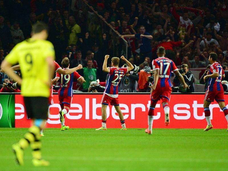 Un heroico Müller coronaría al Bayern en el último minuto del partido. Foto: Getty Images.