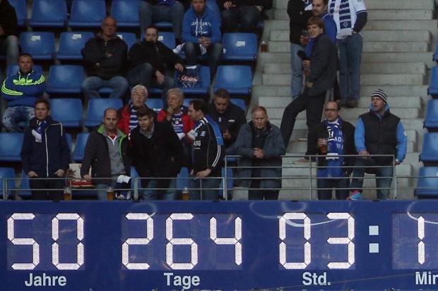 El contador de tiempo en la 1.Bundesliga seguirá andando. Foto vía welt.de