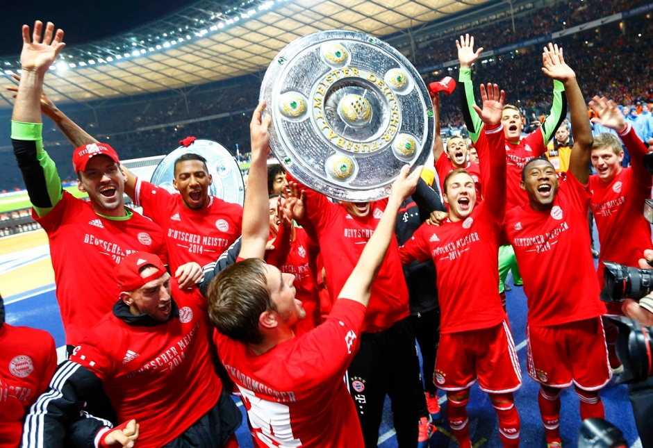 El primer Campeón de Marzo: FC Bayern. Foto vía faz.net