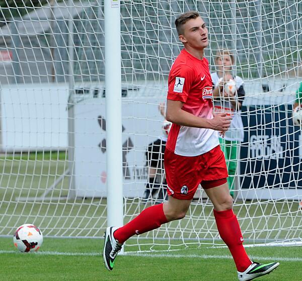 Philipp fue uno de los máximos anotadores del Freiburg II en la temporada. Foto: scfreiburg.com // Heuberger