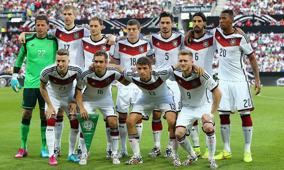 Alineación Alemania Brasil 2014