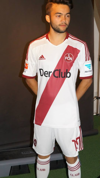 Nueva camiseta FC Nürnberg 2014/2015 local