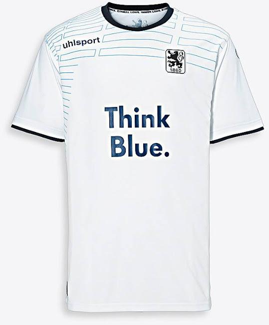 Nueva camiseta 1860 München visitante