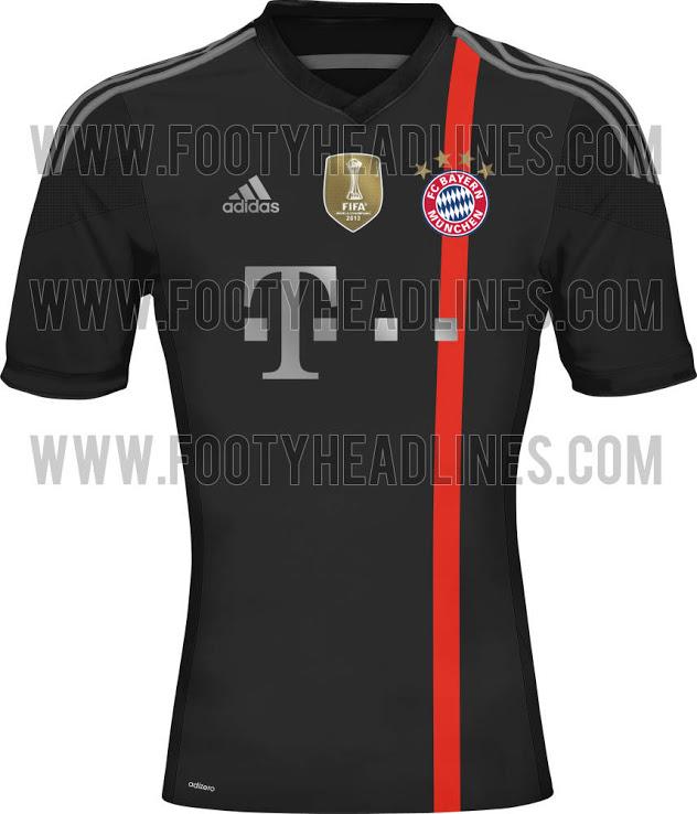 Tercera Camiseta FC Bayern 2014/2015