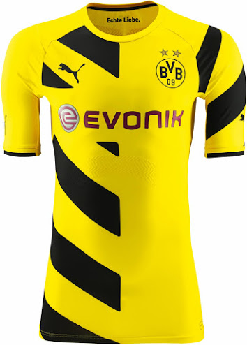 Nueva camiseta Borussia Dortmund 2014/2015 local