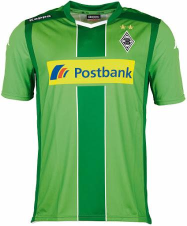 Nueva camiseta Borussia Mönchengladbach  2014/2015 visitante