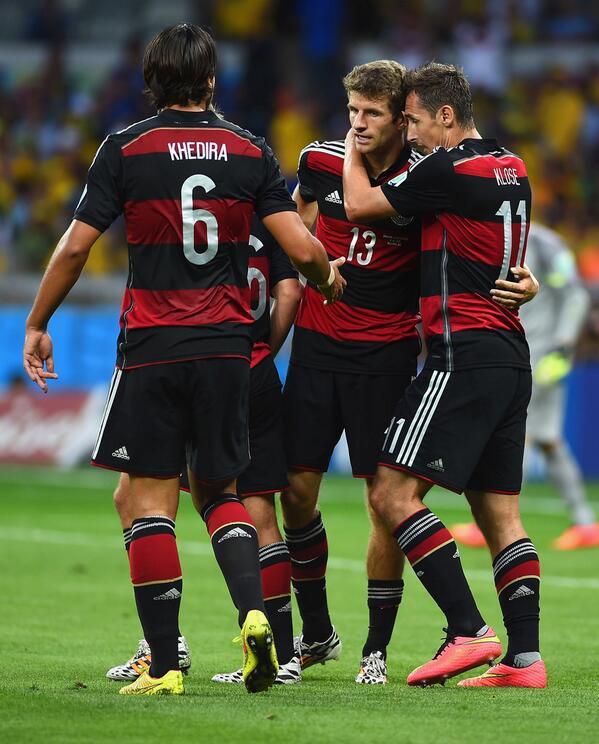 Gol de Khedira vs Alemania Mundial 2014